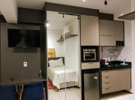 Studio acongegante na vila Mariana, hotel com acessibilidade em São Paulo