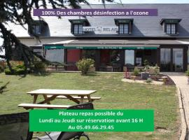 Contact Hôtel du Relais Thouars、トゥアールのホテル