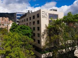 EK Hotel, hotel in Bogotá