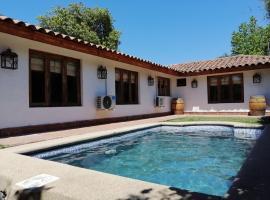 Hotel Tierra & Vino, hotel en Santa Cruz