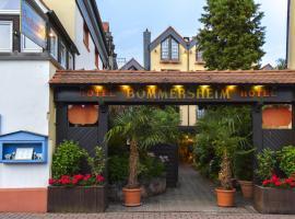 Hotel und Restaurant Bommersheim, hotel near Main-Taunus-Zentrum, Eschborn