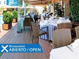 Best Western Hotel Mediterraneo, viešbutis Kasteldefelse