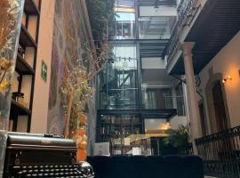 Casa Prim Hotel Boutique, hotel in Mexico City