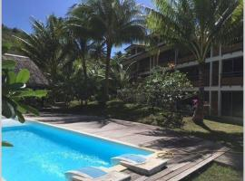 2 bedrooms condo with swimming pool, apartment in Bora Bora