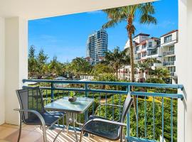 Calypso Plaza Resort Unit 215 Beachfront Studio Apartment, hotel in Gold Coast