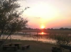 Hippo Island Okavango, glamping site in Maun