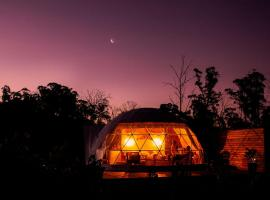 Domescapes in the Vines, camping de luxo em Sidmouth