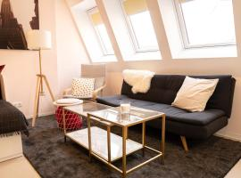 FULL HOUSE Studios - CityStyle Apartment - NETFLIX, WiFi inkl, accessible hotel in Leipzig