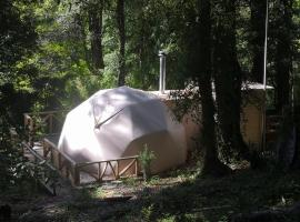 Huerquehue Andes Domes, luxury tent in Pucón