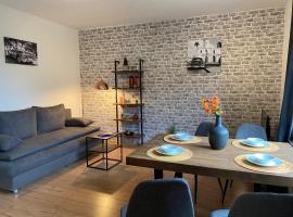 Moderne Wohnung bei Duisburg Hbf., apartment in Duisburg