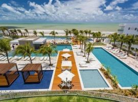 Qavi - Flat em Resort Beira Mar Cotovelo #InMare224, hotel in Granja Beira Mar
