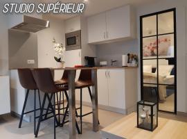 Terrasses de Malmedy F&L triplex 214 et studio 320 et 317 et Studio supérieur 340, pet-friendly hotel in Malmedy