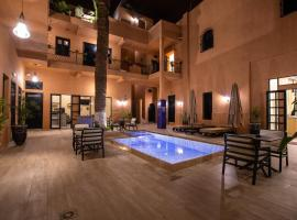 Hotel Toulousain, hotel in Marrakesh