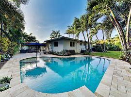 Newly Furnished Home - Backyard Oasis, Heated Pool home, villa in Fort Lauderdale