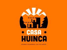 Casa Huinca Vinos y Montaña, hotel in La Consulta