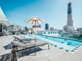 Vince Bangkok Pratunam Hotel & Residence, hotel near SEA LIFE Bangkok Ocean World, Bangkok