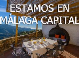 Complejo Rural El Mirador, hotel cerca de Parque Natural de los Montes de Málaga, Málaga