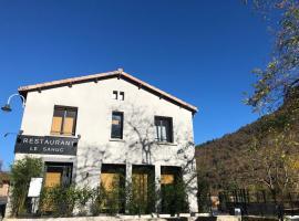 Le Sahuc, hôtel à Rivière-sur-Tarn