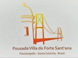 Suites Villa Forte Santana, hotel near Hercilio Luz Bridge, Florianópolis