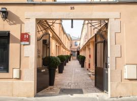 Hotel De L'Horloge, apartment in Paris