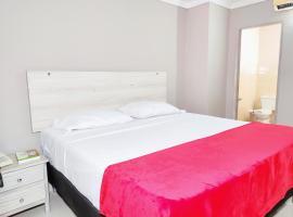 Hotel Canadiense Barranquilla Colombia, отель в городе Барранкилья