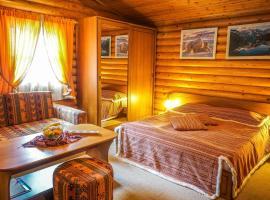 History, hotel in Khuzhir