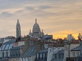 m-Otel, quarto em acomodação popular em Paris