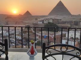 Golden Pyramids Inn, budget hotel in Cairo