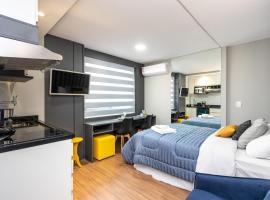 Studio Moderno excelente localização - AYN040, budget hotel in Curitiba