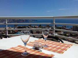 Hermoso departamento con vista al mar en Valparaiso, apartamento en Valparaíso
