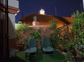 Ático San Clemente, hotel cerca de Isla Mágica, Sevilla