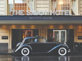 The Savoy Hotel on Little Collins Melbourne, hotell i Melbourne