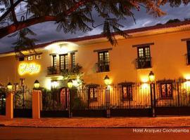 Hotel Aranjuez Cochabamba, boutique hotel in Cochabamba