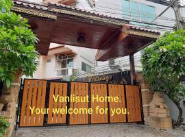 Vanlisut Hotel Ngamwongwan, hotel in Nonthaburi