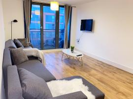 City Centre Arcadian Apartment With Balcony - Contractor friendly, apartment in Birmingham