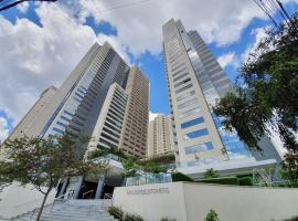 Flat com excelente localização no Brookfield Tower, apartment in Goiânia