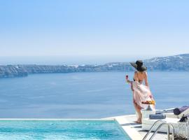Mythical Blue Luxury Suites, hotel din Fira