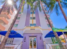 Ocean Spray Hotel by Rabbu, apart-hotel em Miami Beach