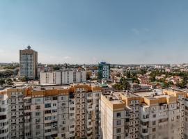 Tolstoi Central Apartment, apartment in Chişinău