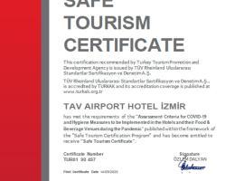 Tav Airport Hotel Izmir, отель в Измире