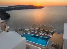 Grand View - Megalochori Santorini, hotel en Megalokori