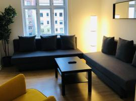 Adnana - Reberbansgade Central Apartment, feriebolig i Aalborg