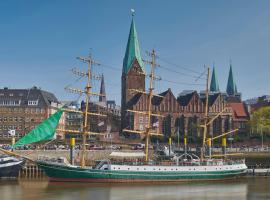 Alexander von Humboldt - Das Schiff, hótel í Breme