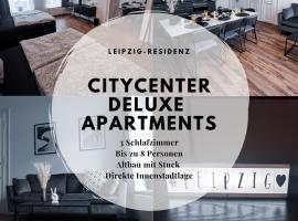 Leipzig Residenz City-Center Deluxe Apartments, budget hotel in Leipzig
