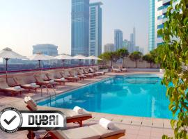 Crowne Plaza Dubai, an IHG hotel, hotel near Dubai World Trade Centre, Dubai