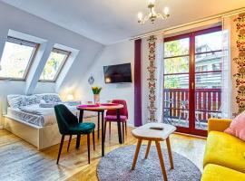 Apartament z Sauną pod Świerkami - 5D Apartamenty – hotel w pobliżu miejsca Letni tor saneczkowy Kolorowa w mieście Karpacz
