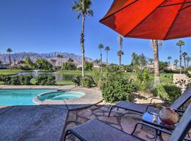 Home with Pool and Spa, 6Mi to Dwtn Palm Springs!, hotel in Cathedral City