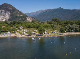 Camping Residence Orchidea, glamping site in Baveno
