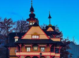 Libušín & Maměnka národní kulturní památky, hotel v Prostřední Bečvě