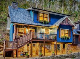 The Blue Spruce, cabin in Gatlinburg